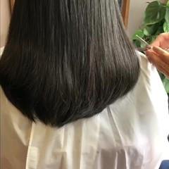ボブ 色気 ショートボブ 黒髪 ヘアスタイルや髪型の写真・画像