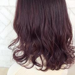 アンニュイ 外国人風カラー ミディアム ゆるふわ ヘアスタイルや髪型の写真・画像