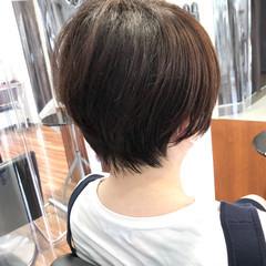 ショートヘア ショート ショートボブ 髪質改善 ヘアスタイルや髪型の写真・画像