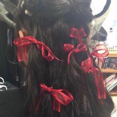 ガーリー ブルージュ グレージュ ロング ヘアスタイルや髪型の写真・画像