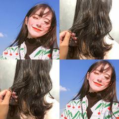 簡単ヘアアレンジ デート ナチュラル アンニュイほつれヘア ヘアスタイルや髪型の写真・画像