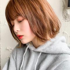 小顔ショート 簡単ヘアアレンジ ウルフレイヤー 外国人風 ヘアスタイルや髪型の写真・画像