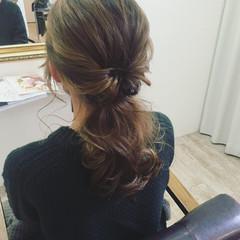 後れ毛 簡単ヘアアレンジ ショート 外国人風 ヘアスタイルや髪型の写真・画像