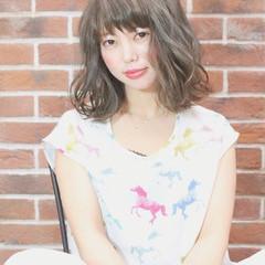 女子会 リラックス パーマ ナチュラル ヘアスタイルや髪型の写真・画像