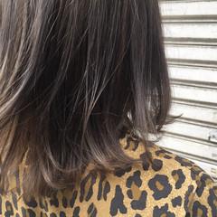 グラデーションカラー アッシュ ナチュラル 大人かわいい ヘアスタイルや髪型の写真・画像