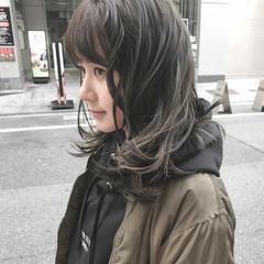 デート スポーツ 冬 外国人風 ヘアスタイルや髪型の写真・画像