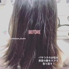 美髪 ナチュラル セミロング 髪の病院 ヘアスタイルや髪型の写真・画像