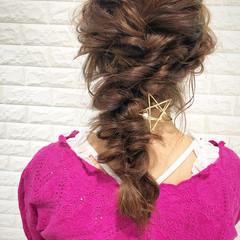 フェミニン オフィス ヘアアレンジ 大人かわいい ヘアスタイルや髪型の写真・画像