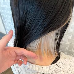 ミニボブ モード ボブ ベリーショート ヘアスタイルや髪型の写真・画像
