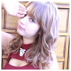 フェミニン ゆるふわ 外国人風 ガーリー ヘアスタイルや髪型の写真・画像