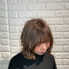 波ウェーブ ボブ ブリーチオンカラー デート ヘアスタイルや髪型の写真・画像