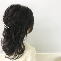 簡単ヘアアレンジ 結婚式 子供 ヘアアレンジ ヘアスタイルや髪型の写真・画像