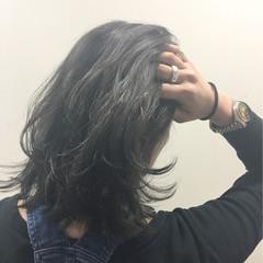 こなれ感 アッシュ 暗髪 色気 ヘアスタイルや髪型の写真・画像