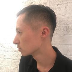 ボーイッシュ 黒髪 モード ショート ヘアスタイルや髪型の写真・画像