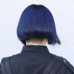 坊主 アッシュ ダブルカラー ブルージュ ヘアスタイルや髪型の写真・画像
