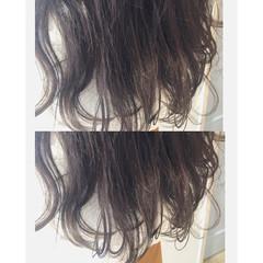 ガーリー アッシュ 外国人風カラー ストリート ヘアスタイルや髪型の写真・画像