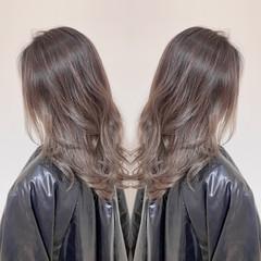 ロング バレイヤージュ 外国人風カラー 外国人風 ヘアスタイルや髪型の写真・画像