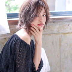 外国人風 ピュア ボブ かわいい ヘアスタイルや髪型の写真・画像