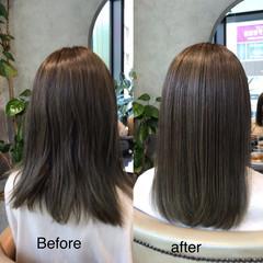 可愛い 美髪 ナチュラル 似合わせカット ヘアスタイルや髪型の写真・画像