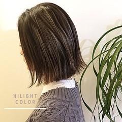 大人ハイライト ブリーチ必須 モード 外国人風カラー ヘアスタイルや髪型の写真・画像