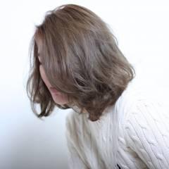 ストリート ボブ ウェットヘア ヘアスタイルや髪型の写真・画像