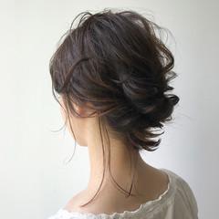 簡単ヘアアレンジ ヘアアレンジ デート 結婚式 ヘアスタイルや髪型の写真・画像