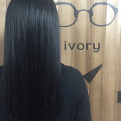 ガーリー アッシュグレー ロング 暗髪 ヘアスタイルや髪型の写真・画像