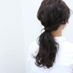 簡単ヘアアレンジ ヘアアレンジ ゆるふわ ショート ヘアスタイルや髪型の写真・画像
