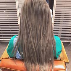 外国人風カラー ナチュラル ロング 表参道 ヘアスタイルや髪型の写真・画像