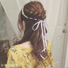 ヘアアレンジ パーティ ロング 結婚式 ヘアスタイルや髪型の写真・画像