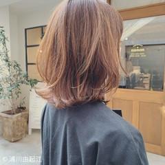 グラデーションカラー 大人かわいい モテ髪 ゆるふわ ヘアスタイルや髪型の写真・画像
