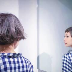 パンク マルサラ 外国人風 ストリート ヘアスタイルや髪型の写真・画像