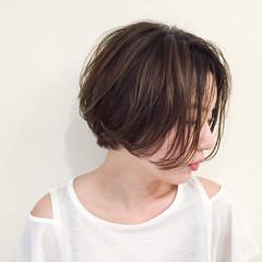 ハイライト ショート 外国人風 ストリート ヘアスタイルや髪型の写真・画像