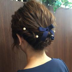 ショート ヘアアレンジ ルーズ ヘアスタイルや髪型の写真・画像