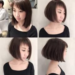 ストリート 暗髪 ショート ウェットヘア ヘアスタイルや髪型の写真・画像