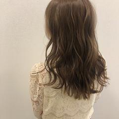 艶髪 デート かわいい グレージュ ヘアスタイルや髪型の写真・画像