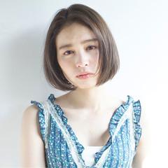 外国人風カラー ボブ 大人かわいい 外国人風 ヘアスタイルや髪型の写真・画像