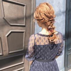ロング 結婚式 ヘアアレンジ お呼ばれヘア ヘアスタイルや髪型の写真・画像
