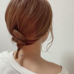 ロブ ゆるふわパーマ ナチュラル ヘアアレンジ ヘアスタイルや髪型の写真・画像