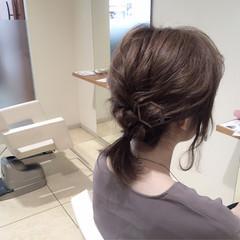 簡単ヘアアレンジ ショート ゆるふわ 大人女子 ヘアスタイルや髪型の写真・画像
