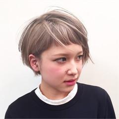 グラデーションカラー ストリート ピュア ハイライト ヘアスタイルや髪型の写真・画像