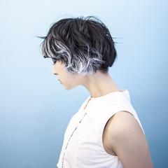 ショート モード マッシュ かっこいい ヘアスタイルや髪型の写真・画像