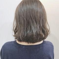 成人式 ナチュラル ロブ デート ヘアスタイルや髪型の写真・画像