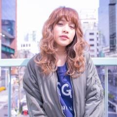 ストリート セミロング ウェットヘア パンク ヘアスタイルや髪型の写真・画像