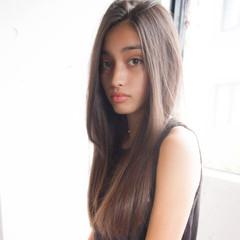 ロング 黒髪 ストリート 暗髪 ヘアスタイルや髪型の写真・画像
