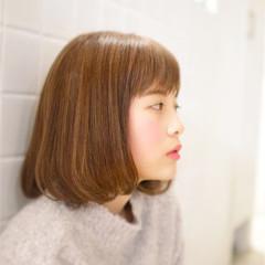 モテ髪 フェミニン ストレート 愛され ヘアスタイルや髪型の写真・画像
