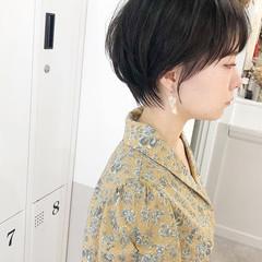ストレート ショートボブ ショートヘア ミニボブ ヘアスタイルや髪型の写真・画像