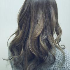 渋谷系 ロング 大人かわいい 外国人風 ヘアスタイルや髪型の写真・画像