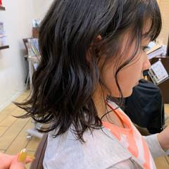 ナチュラル キッズ ニュアンス キッズカット ヘアスタイルや髪型の写真・画像