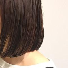 モード ナチュラル 大人女子 ワンレングス ヘアスタイルや髪型の写真・画像